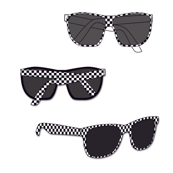 Indianapolis Motor Speedway Checkered Sunglasses