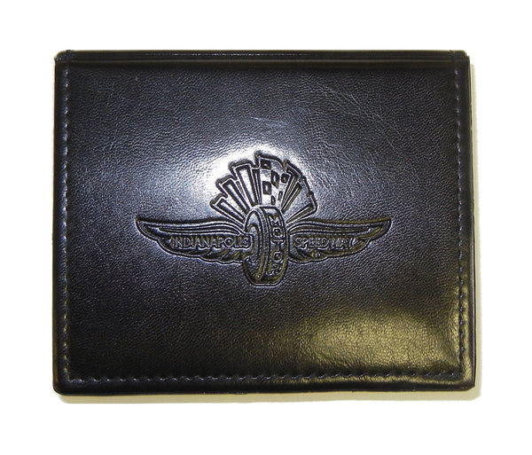 Wing Wheel and Flag Embossed Sticky Note Holder