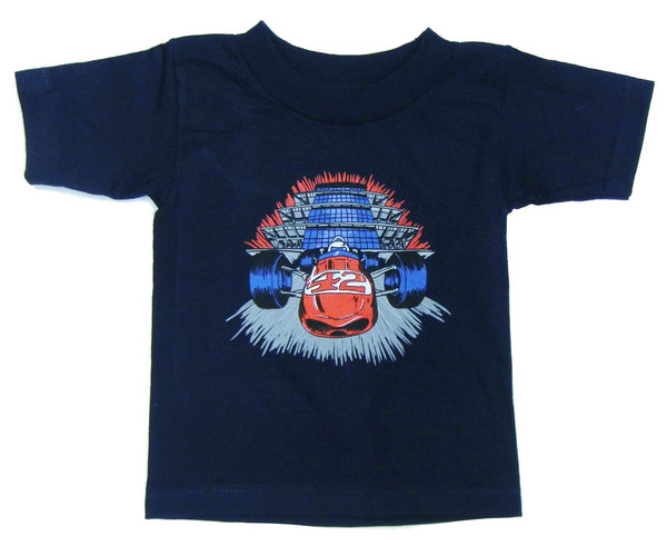 Indianapolis Motor Speedway Burning Rubber T-Shirt