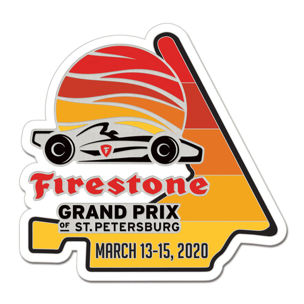 2020 Firestone Grand Prix of St. Petersburg Lapel Pin