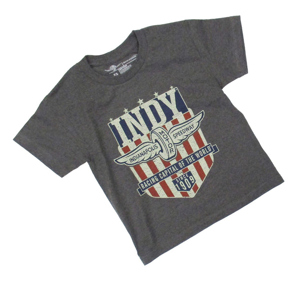 Youth Wing and Wheel America Indy T-Shirt