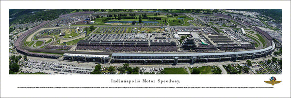 "IMS Panoramic Poster Unframed Flat / 40""x13.5"""
