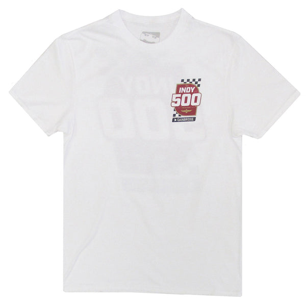 2020 Indy 500 White Event T-Shirt