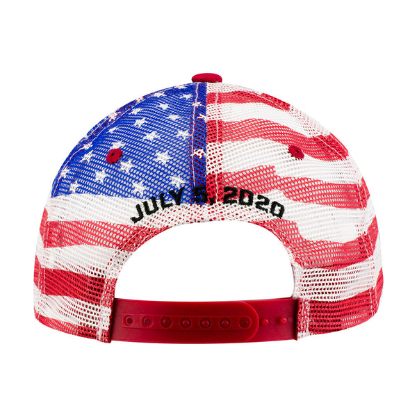 2020 Big Machine Vodka Brickyard 400 American Flag Cap