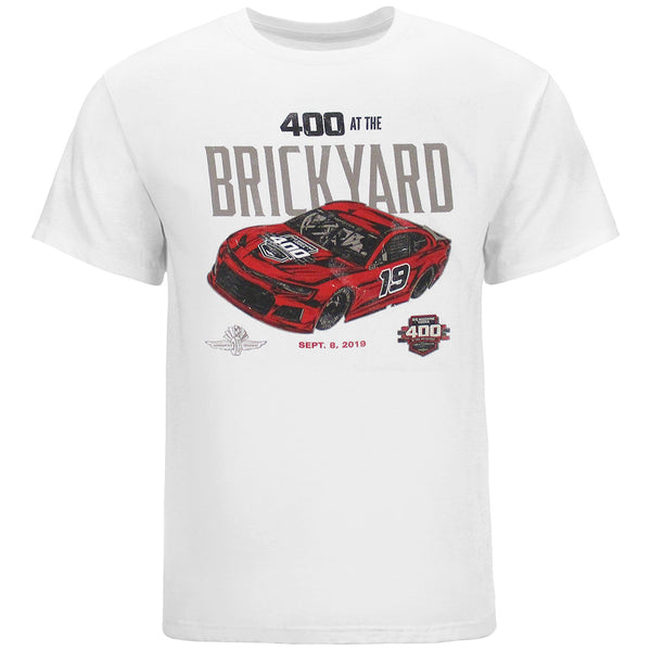 2019 Brickyard 400 White Event T-Shirt