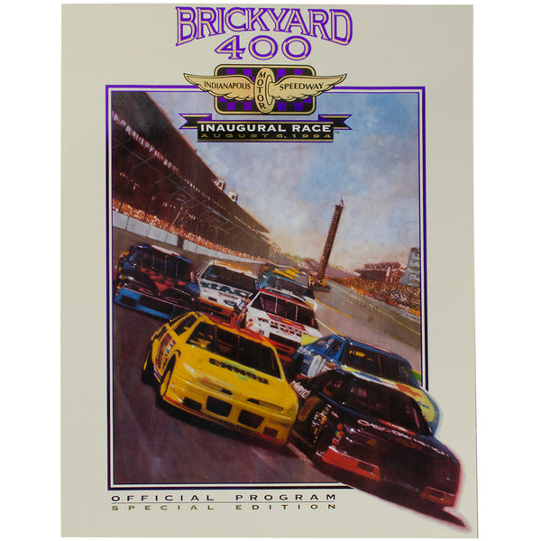 1994 Inaugural Brickyard 400 Program (re-print)