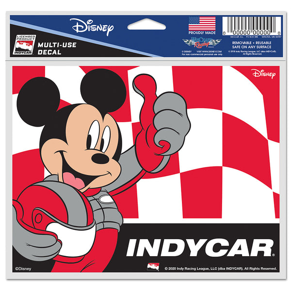 INDYCAR Mickey Mouse Decal