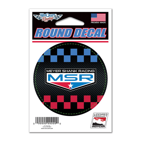 Meyer Shank Racing Round Decal