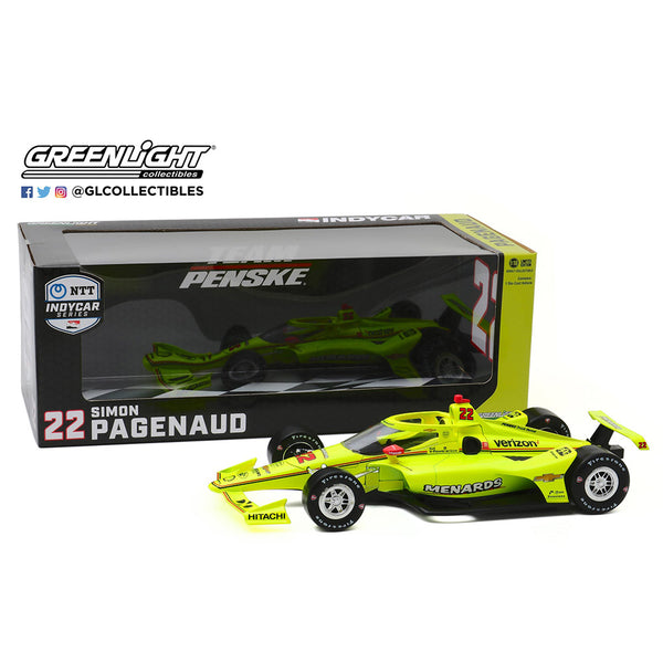 2020 Simon Pagenaud Menards 1:18 Diecast