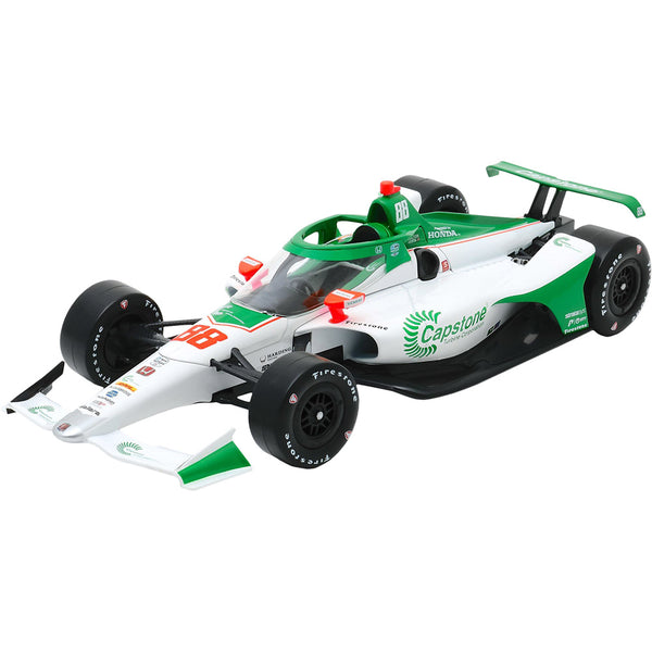 Colton Herta Capstone Hand Autographed 2020  1:18 Diecast