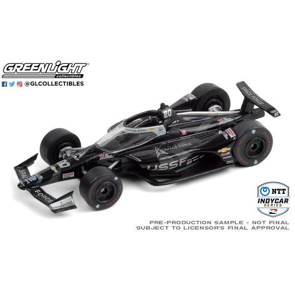 2020 Ed Carpenter United States Space Force 1:64 Diecast