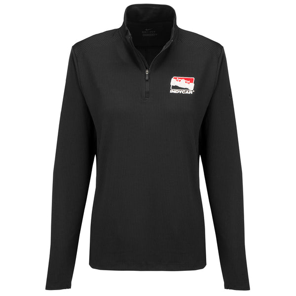 Ladies INDYCAR Dry Victory 1/2 Zip Nike Jacket