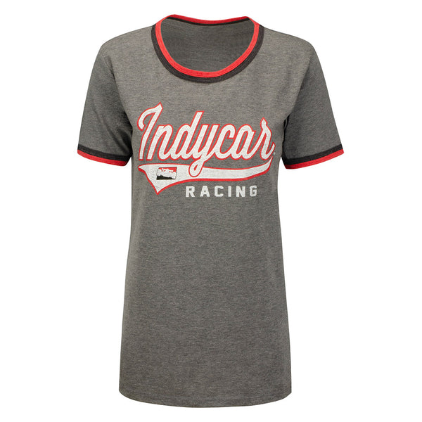 Ladies INDYCAR Jersey Scoop Neck T-Shirt