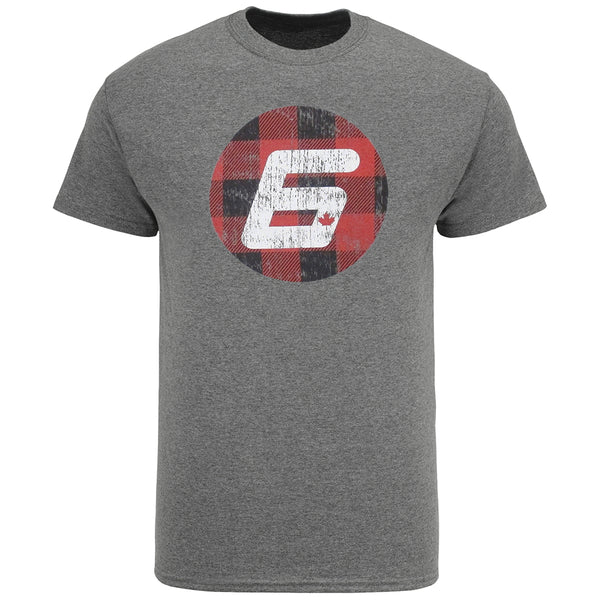 Robert Wickens Circle Plaid Triblend T-Shirt