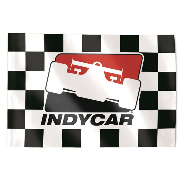 INDYCAR 3' x 5' Checkered Flag