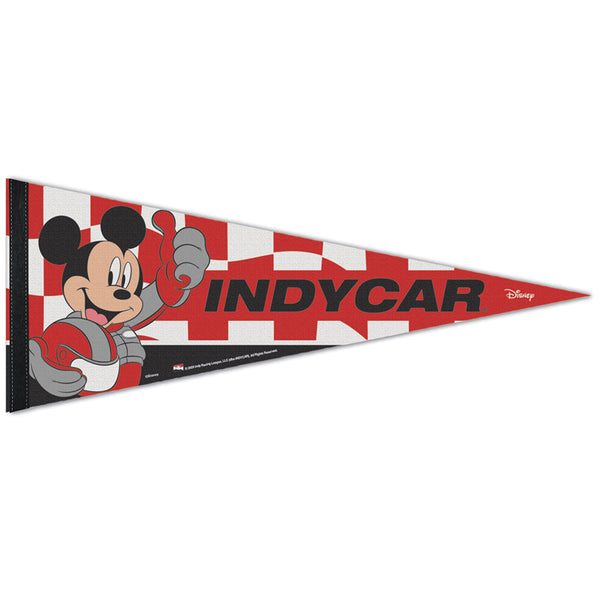 INDYCAR Mickey Mouse Premium Pennant