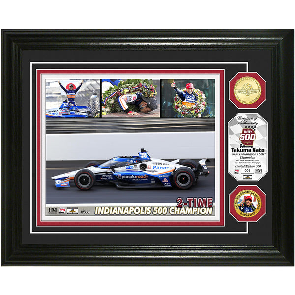 2020 Sato Winner Frame with Coin