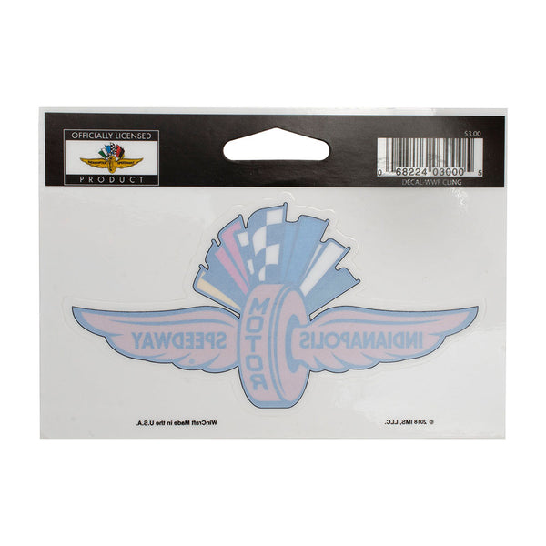 Indianapolis Motor Speedway Decal / Cling