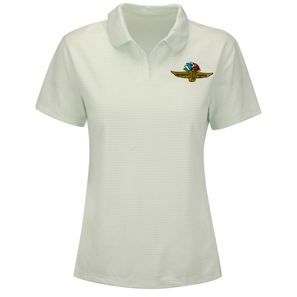 Ladies Wing Wheel and Flags Dry Fit Victory Polo