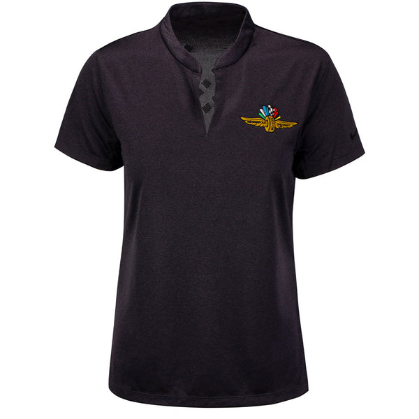 Ladies Wing Wheel and Flag  Zonal Nike Polo