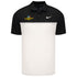 Indianapolis Motor Speedway Black & White Dry Colorblock Nike Polo