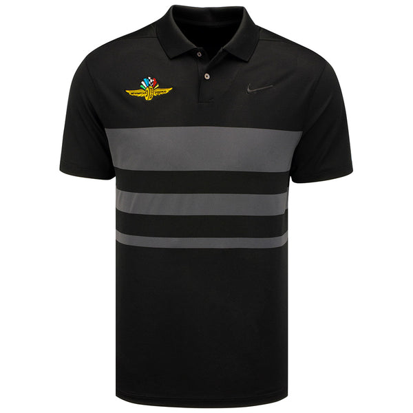 Wing Wheel and Flags Dry Vapor Stripe Nike Polo