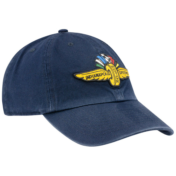 Wing Wheel and Flag Clean Up Navy Cap