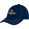 Wing Wheel and Flag Force Flex Cap