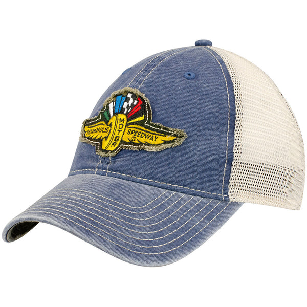 Wing Wheel and Flag Woodlands Cap