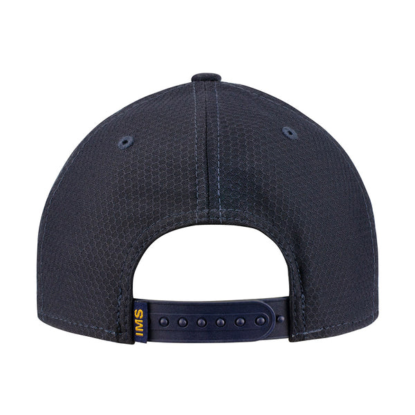 Wing Wheel and Flag Hex Tech Navy New Era 9Forty Cap