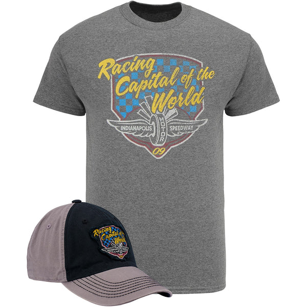 Racing Capital of the World Hat T-Shirt Combo