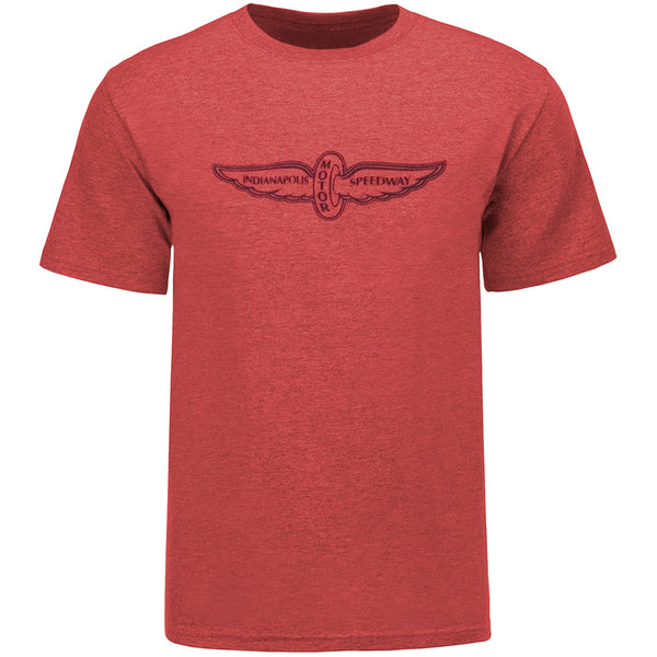 Wing and Wheel Classic 90's Polyblend T-Shirt
