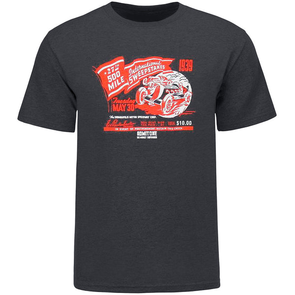 1939 500 Mile Sweepstakes Polyblend T-Shirt