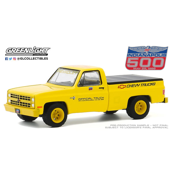 1986 Silverado Offical Race Truck 1:64 Diecast