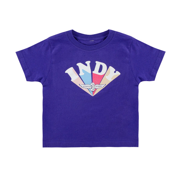 Toddler Girls Race The Rainbow T-Shirt
