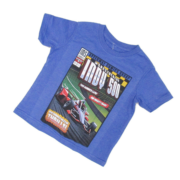 Toddler Indy 500 Speedway Comic T-Shirt
