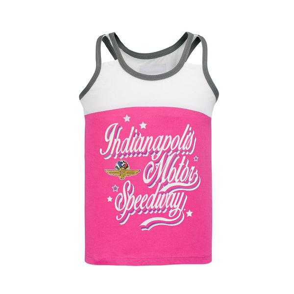 Girls Indianapolis Motor Speedway Racer Tank Top