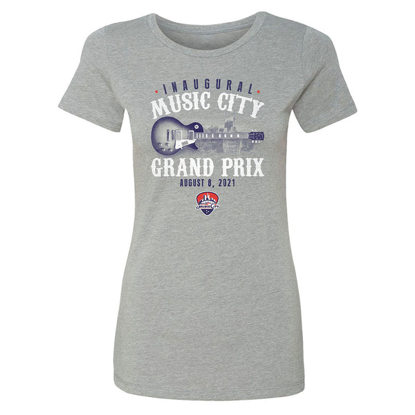 Ladies 2021 Inaugural Music City Grand Prix Scoop Neck T-Shirt
