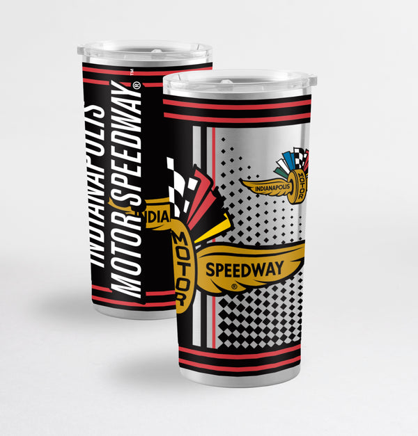 Indianapolis Motor Speedway Hero Stainless ST-Shirtl 20oz Tumbler