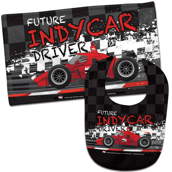 INDYCAR Series Future INDYCAR Driver Bib & Burp Cloth Set