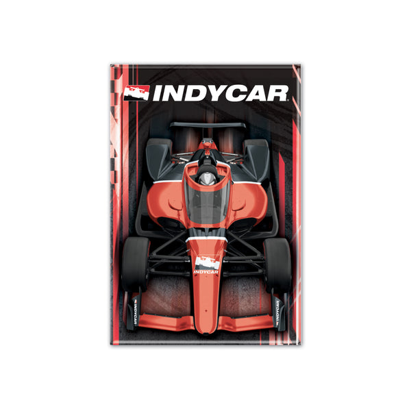 "INDYCAR Vertical Car 2""x3"" Magnet"