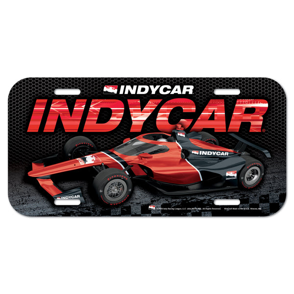 INDYCAR Car License Plate