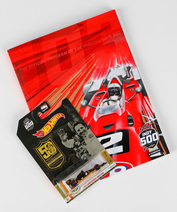 2019 Indy 500 Program Autographed by Starting Field