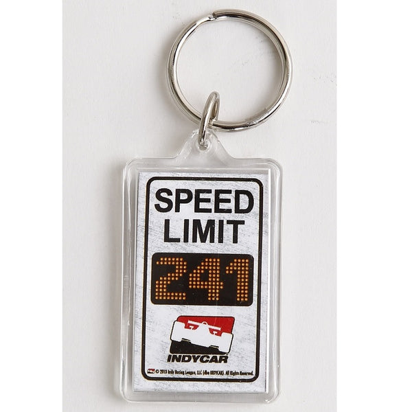 INDYCAR Speed Limit Keychain