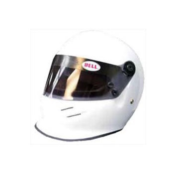 Mini White Open Wheel Helmet 1:2 Scale