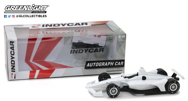1:18 White INDYCAR Diecast Autographed by 2017 Starting Field
