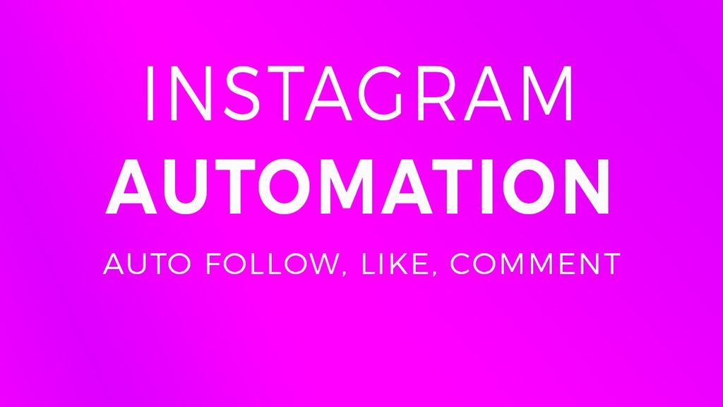World of bots and programs in Instagram likes and subscription