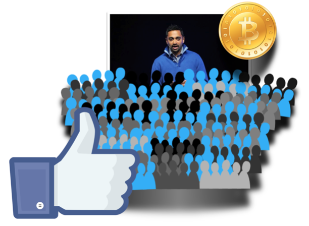 buy facebook likes with bitcoins