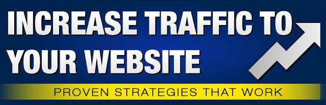website traffic banner