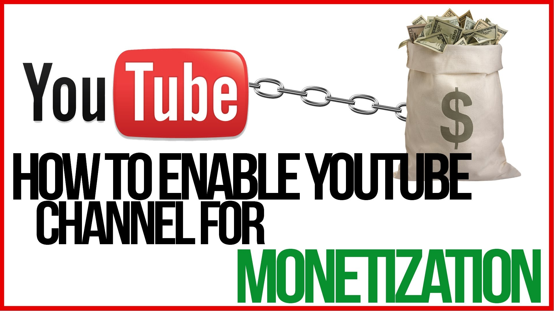 enable monetization youtube channel